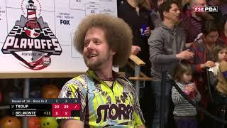 PBA Bowling Playoffs Round of 16 Part 1 04 22 2019 (HD)