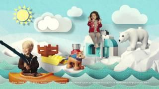LEGO® DUPLO®  - Навколо світу - рекламний ролик(Маленькі мандрівники залюбки пізнаватимуть світ з наборами LEGO® DUPLO®