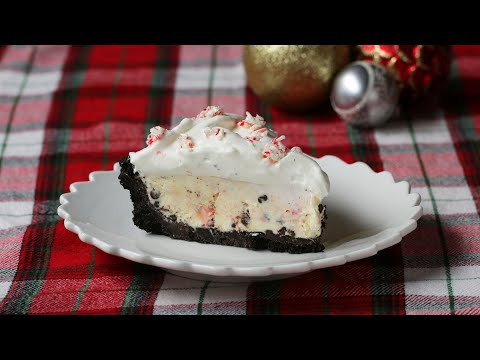 How To Make A Candy Cane Pie •Tasty