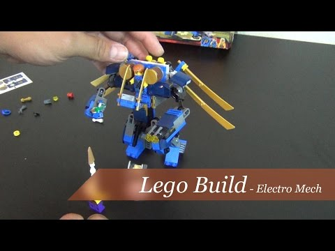 Lego Build - Ninjago Electro Mech Set #70754
