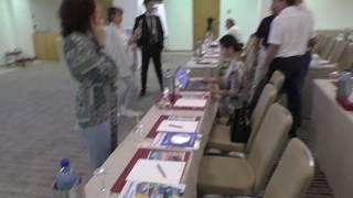 Перед началом презентации ЦДС в конференц зале отеля Святой Рафаэль в Лимасоле Кипр