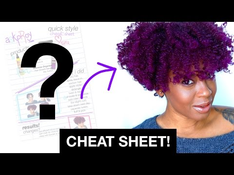 Cheat Sheet! Twist Out on Dry Natural Hair | askpRoy