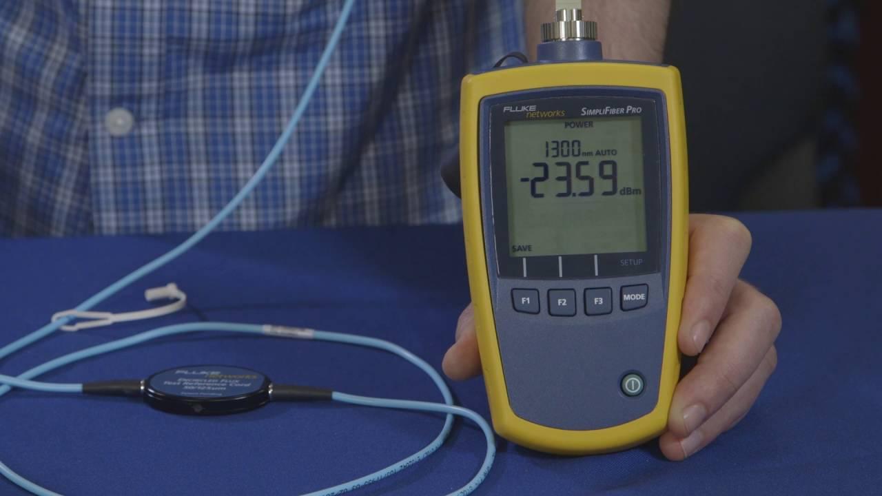 SimpliFiber Pro Optical Power Meter and Fiber Test Kits