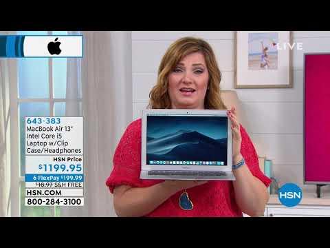 "apple-macbook-air-13.3""-intel-core-i5-laptop-w/clip-case..."