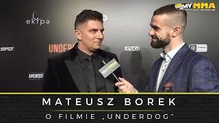 Mateusz Borek po premierze filmu Underdog