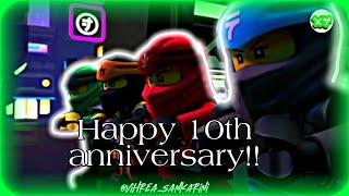 Happy Ninjago's 10th anniversary!! Ninjago Edit -