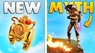 NEW JETPACK MYTHBUSTERS | Fortnite: Mythbusters