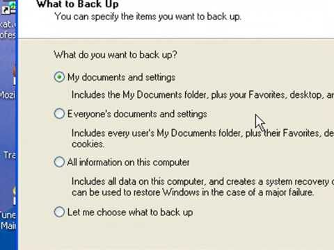 how to create bacup of harddrive windows