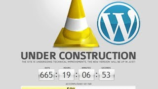 How To Build Under Construction Page In WordPress