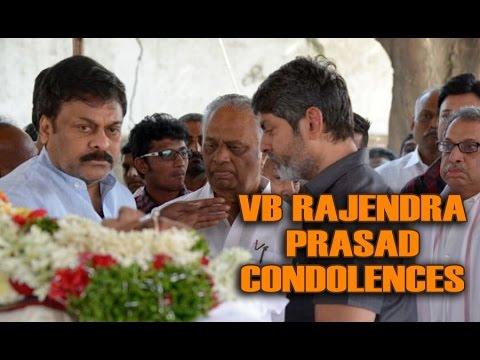 Celebrities paying tributes to VB Rajendra Prasad    Gulte.com