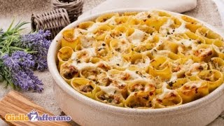 Sausage And Mushroom Pasta Pie - Recipe