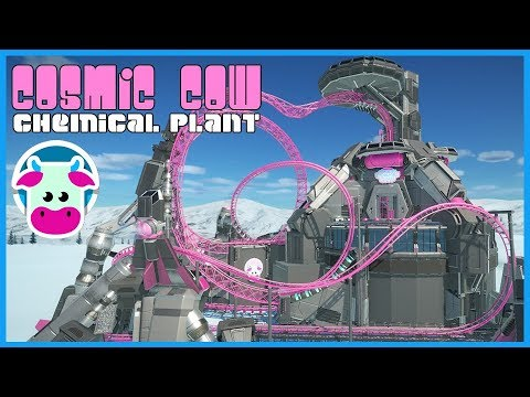 Cosmic Cow's Chemical Plant! Coaster Coaster Spotlight 335 #PlanetCoaster