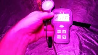 Par Meter Test California Lightworks SolarStorm 880