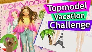 Topmodel moda miejska albo plażowa miejski outfit i plażowy look
