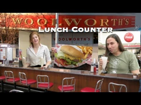 Woolworth's Lunch Counter In Bakersfield California 2018