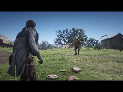 Red Dead Redemption 2 - Cowboy Duel Battle