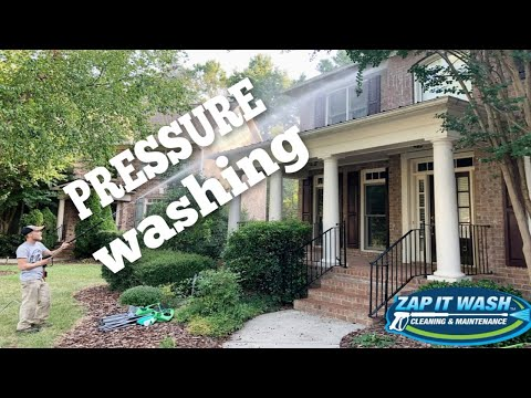 Zap It Wash - Full Service Exterior Cleaning in Charlotte