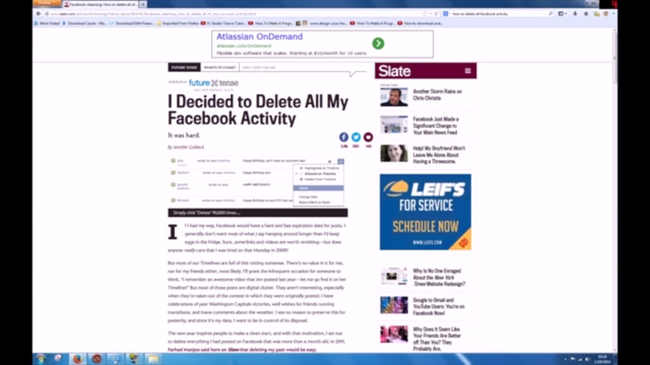 How To Delete Facebook Post Timeline Wall