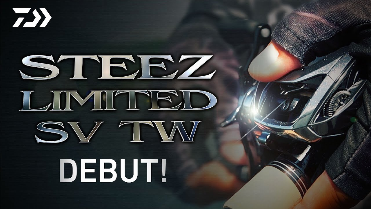 STEEZ LIMITED SV TW DEBUT!|Ultimate BASS by DAIWA Vol.290