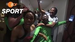 Jubeln, singen, beten: Nigeria im Achtelfinalfieber | FIFA Frauenfußball WM™ 2019 - ZDF