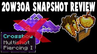 1.16.2 Minecraft Snapshot 20w30a Review | NEW Bastion Loot, Protection 8 Helm Removed!