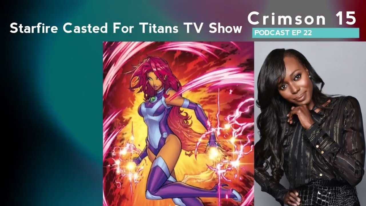 Starfire Cast For Titans TV Show