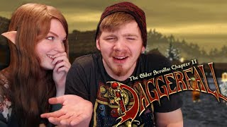 My Boyfriend Plays Daggerfall for the First Time! | Valentine