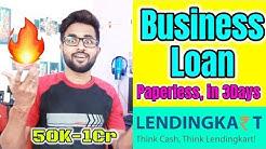 Full Detail of Lendingkart Loan | Paperless Business loan | Loan from Aadhar Card | Instant Loan