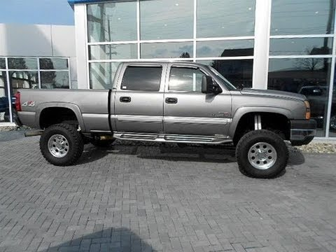 2006 Chevy Silverado 2500hd Diesel Lifted Truck For Sale  YouTube