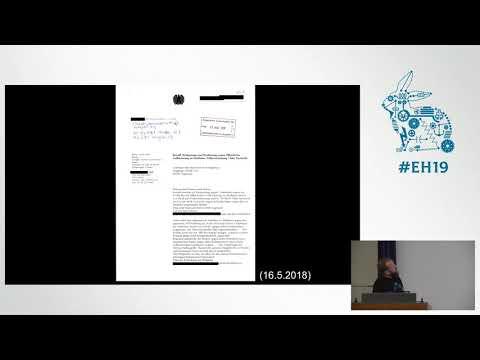 Easterhegg 2019 - Die Zwiebelfreunde/Riseup Durchsuchungen