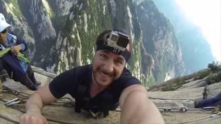Dangerous Hike Mount Huashan - China
