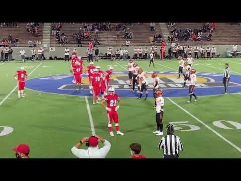 Abrahan Hernandez & Offense Santa Ana High School vs. Orange (2021)