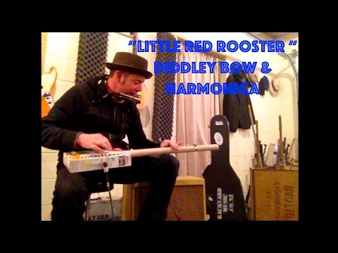 Little Red Rooster with Diddley Bow & Harmonica