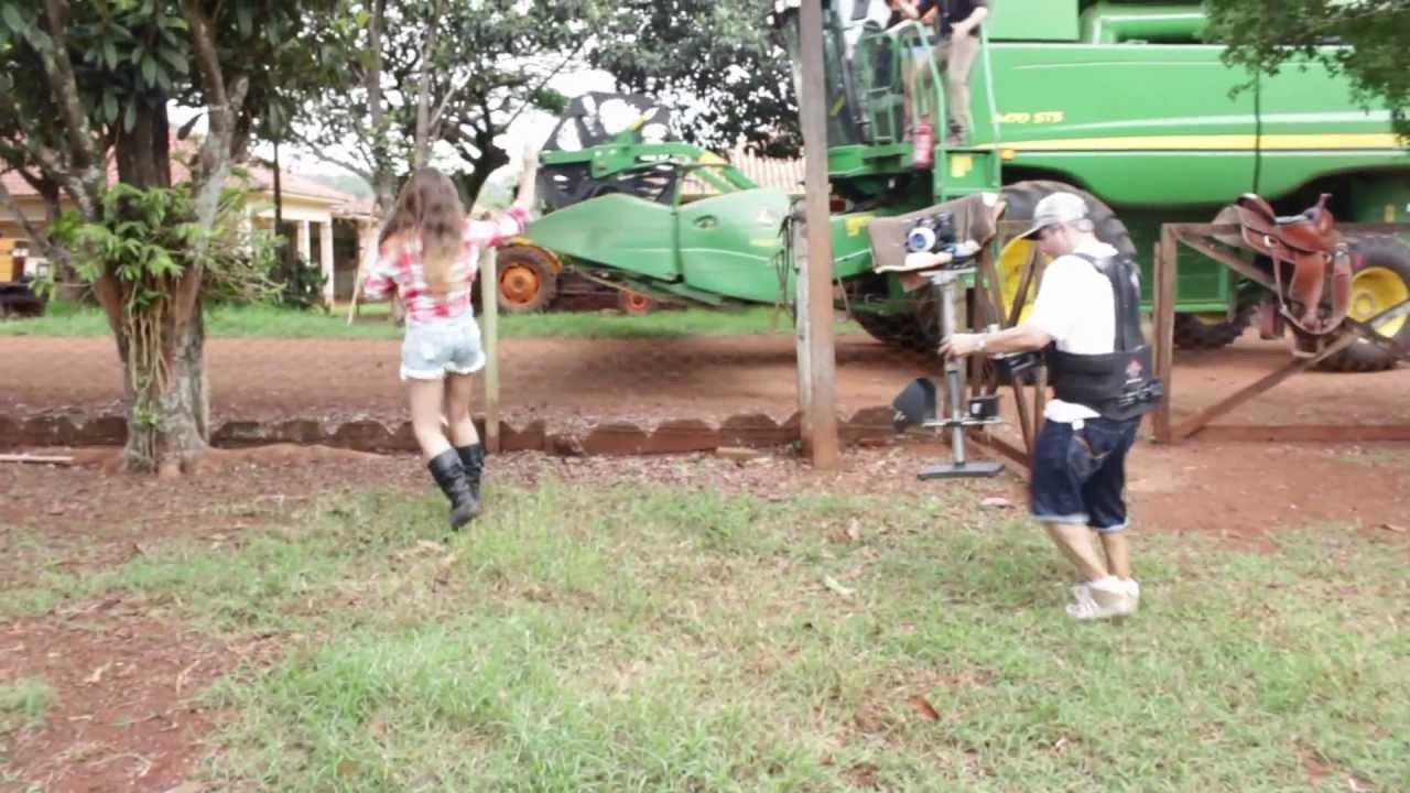 video colheitadeira do vovo