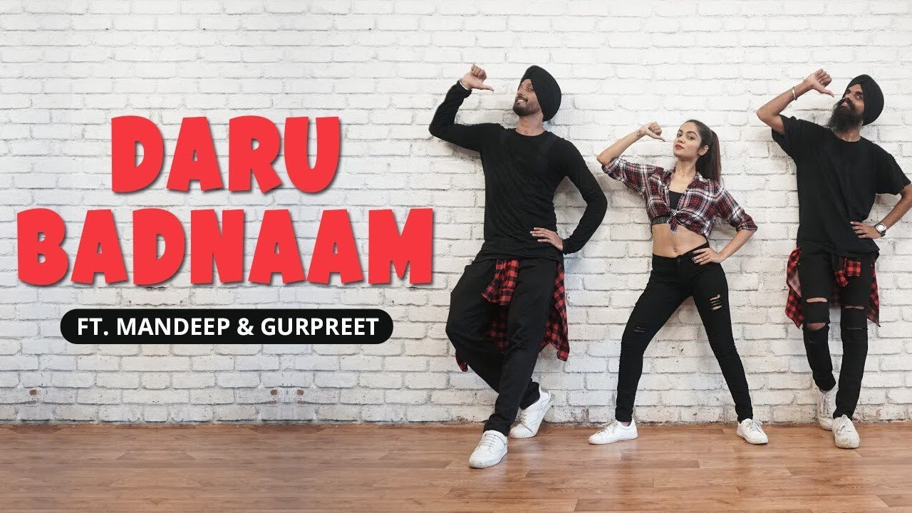 Daru Badnaam | Kamal Kahlon & Param Singh | Dance Cover | LiveToDance with Sonali