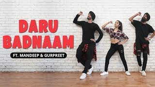 Daru Badnaam | Kamal Kahlon & Param Singh | Dance Cover | LiveToDance with Sonali