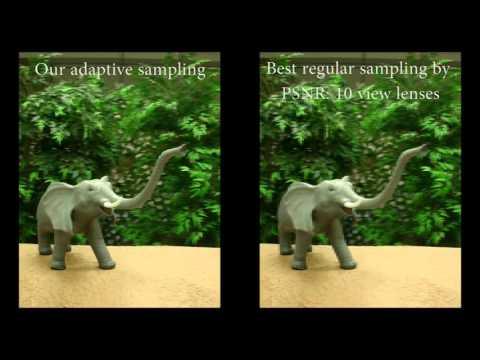 Content-adaptive Lenticular Prints [SIGGRAPH 2013]