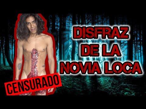 DISFRAZ DE LA NOVIA LOCA. MAIRE VS EL INTERNET