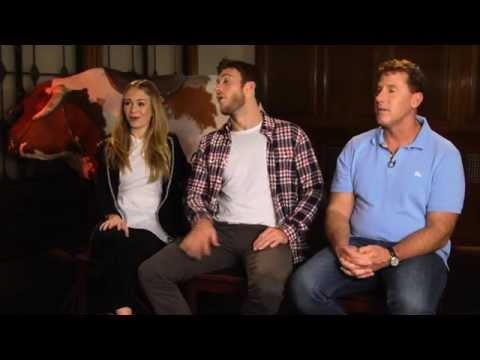 THE LONGEST RIDE Interview - Nicholas Sparks, Britt Robertson & Scott Eastwood