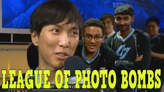 The Best Video Bombs - LCS 2015 | League of Legends