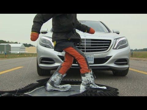 Mercedes S-Class (2014) PRE-SAFE Brake