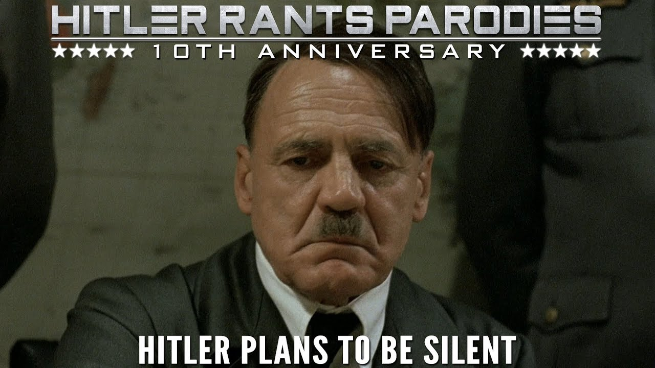 Hitler plans to be silent