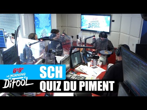 Youtube: SCH – Le quiz du piment #MorningDeDifool