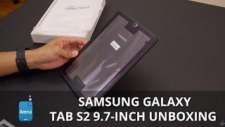 Samsung Galaxy Tab S2 9.7-inch unboxing