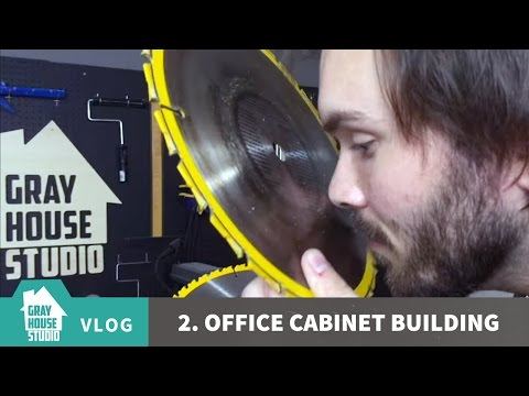 Office Cabinet Building - VLOG 2