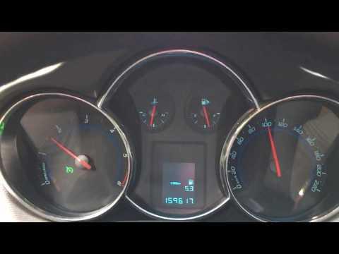 Расход топлива Chevrolet Cruze 2.0 TDI  на 100 - 120 - 140км/ч # 7