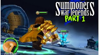 SUMMONERS WAR LEGENDS : Quest for our first Nat 5 - Part #1