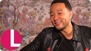 John Legend Reveals Wife Chrissy Teigen Thought John Wrote a Song About Her Feet | Lorraine