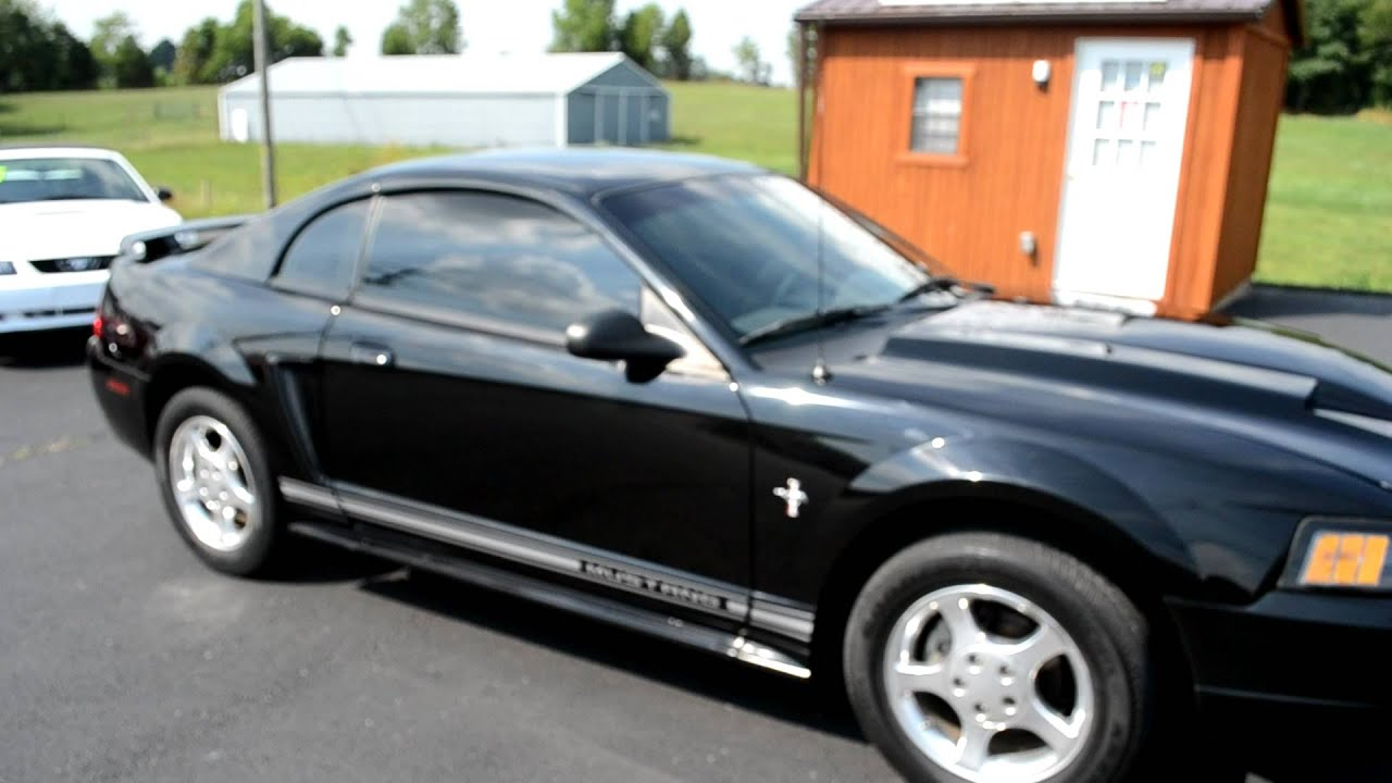 2002 black v6 coupe mustang for sale 4595 sold