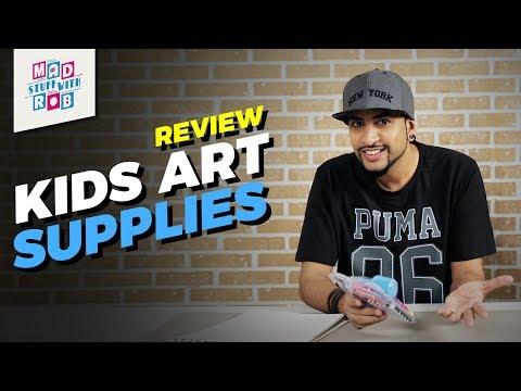 Art Supplies Review   MadStuffWithRob